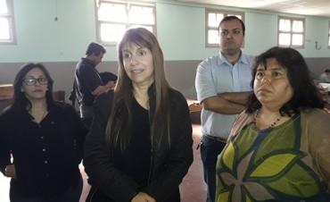 Sonia Velazquez y su jornada de trabajo en el Hospital Colonia