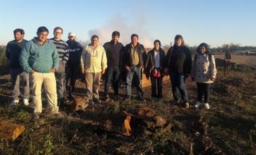 El Municipio junto a un grupo de ladrilleros visitaron Cooperativa de Trabajo de Santa Elena