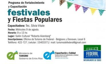 Capacitación en Festivales y Fiestas Populares