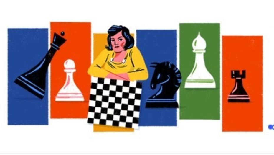 Doodle del día: Lyudmila Rudenko, la campeona de ajedrez que marcó ...