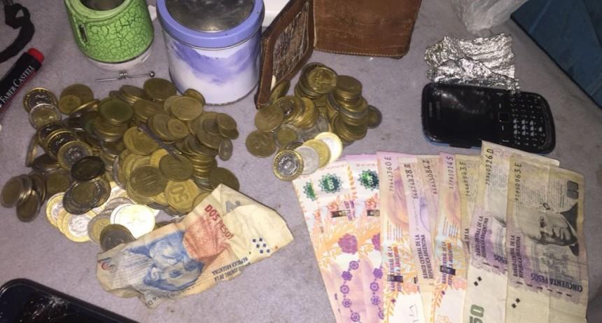 Allanamientos en Feliciano: Secuestraron droga, dinero y documentación