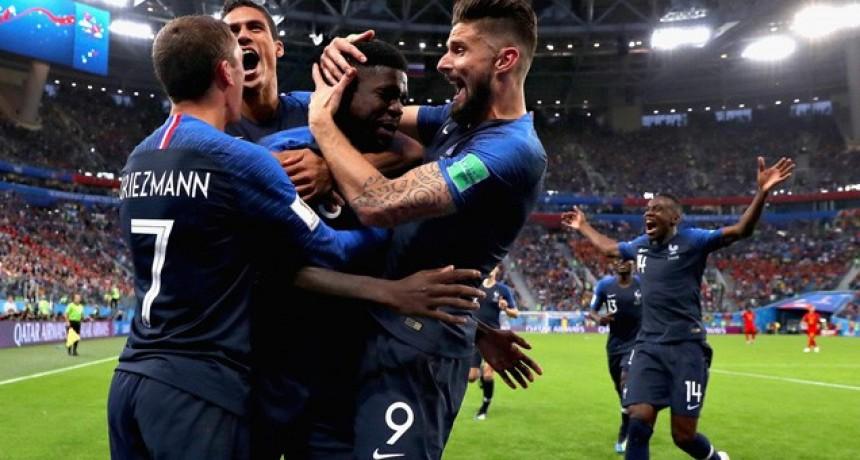 Francia venció a Bélgica y es finalista de la Copa del Mundo