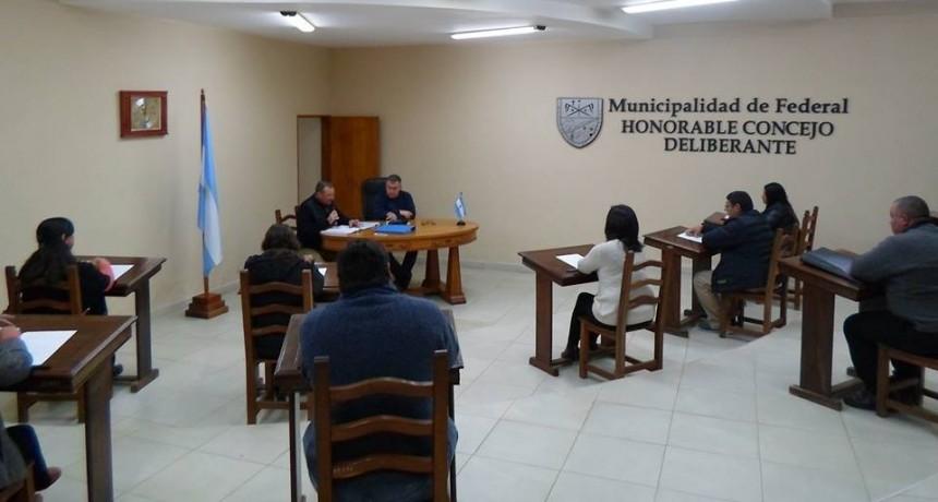 25 de Julio próxima sesión del Concejo Deliberante