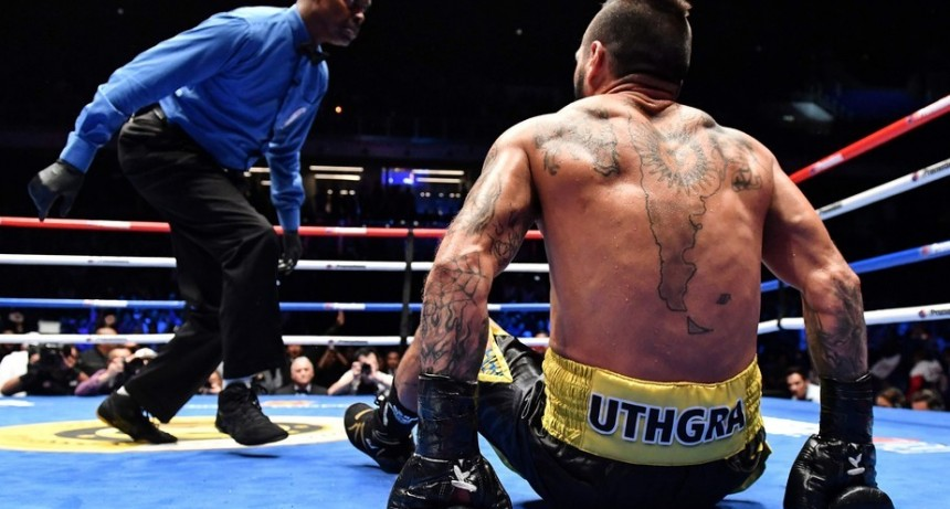 Lucas Matthysse perdió el título wélter de la AMB ante Manny Pacquiao por KOT en el 7° round