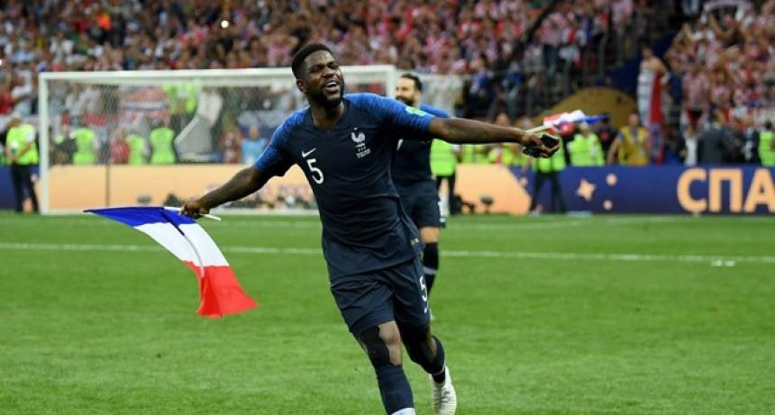 Francia venció en un gran final a Croacia y se coronó Campeón del Mundo