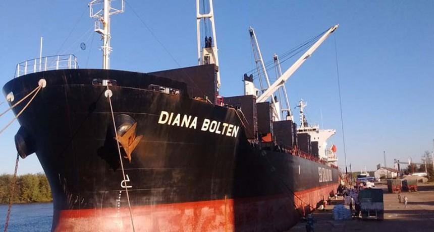 Buque cargará arroz en Concepción del Uruguay: El destino es Irak