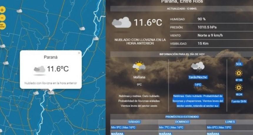 ¿Sigue el frío y la lluvia? Cómo estará el tiempo este fin de semana