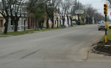 Habilitan los nuevos semáforos en Belgrano e Yrigoyen