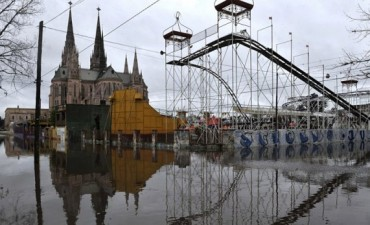 Preocupacón por la suba  del río Luján, hay 2.000 evacuados en toda la Provincia
