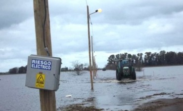 La crecida del Río Salado: Villanueva continúa aislada
