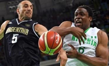 El básquet aplastó a Nigeria y se ilusiona en grande