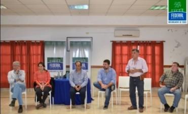 El Municipio ser reunió con referentes locales que participan de la Red Comercial 127-12