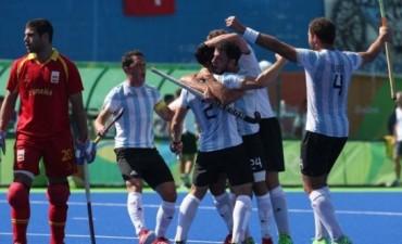 Histórico: Los Leones le ganaron a España y están en la semifinal