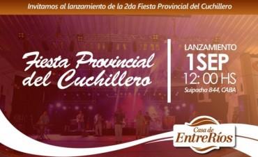 Se presenta la 2da. Fiesta Provincial del Cuchillero en Buenos Aires