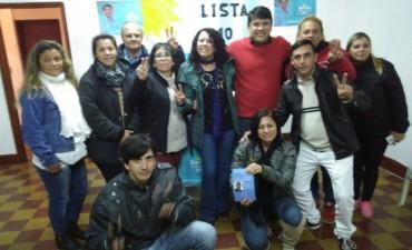 En Federal se presento la Lista N 10 con la presencia del Dip.Nac. Jorge Barreto