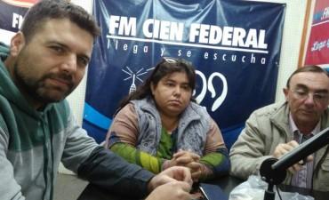 Gestión Departamental con Gerardo Chapino . Jose Ruben Boxler , Nancy Miranda.