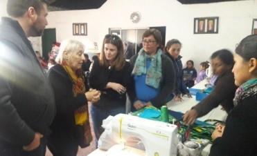 El Intendente recibió la visita de la Senadora Nacional Singrid Kunath