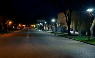 Los primeros avances en iluminación Led en la Ciudad