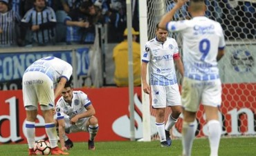 Gremio-Godoy Cruz, Copa Libertadores: el Tomba también perdió en Brasil y quedó eliminado