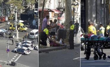 Pánico en Barcelona: ataque con camioneta dejó al menos 12 muertos y decenas de heridos