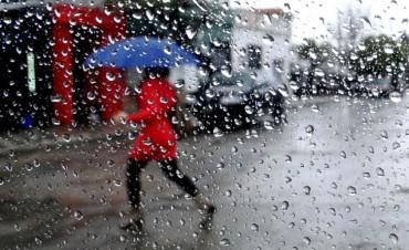 Pronostican lluvias de entre 20 y 40 milímetros para este sábado