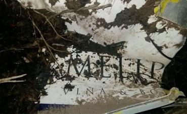 Las fotos de la avioneta encontrada y la clave para identificar los restos
