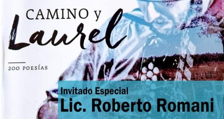 Juan Víctor Larrosa presentara su libro Camino y Laurel