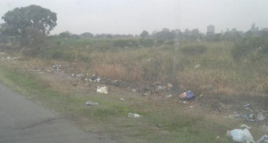 Desde la Zonal II de Vialidad piden que no se arroje basura a la vera de las Rutas.