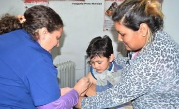 Campaña de vacunación contra la Rubeola, Sarampión y Poliomielitis