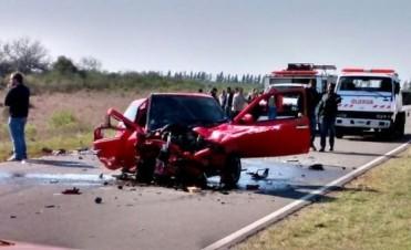 Otro accidente  fatal en la Ruta N° 2: fallecieron dos jóvenes en cercanías de Estancia La Floresta