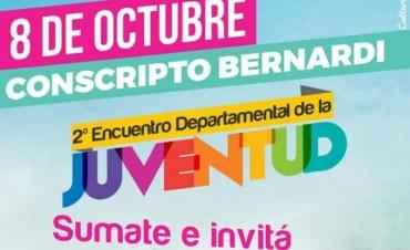 Conscripto Bernardi se prepara para vivir el 2do. ENCUENTRO DEPARTAMENTAL DE LA JUVENTUD...