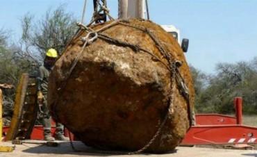 Hallan el segundo meteorito más grande del mundo en Chaco