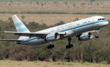 Reemplazan la flota presidencial por ocho aviones alquilados