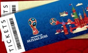 Salieron a la venta las entradas para Rusia 2018