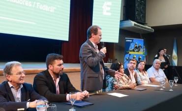 """En su visita a Federal :Bordet: """"Entre Ríos aporta a Nación mucho más de lo que recibe"""""""