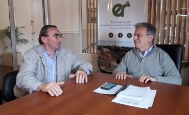 El Intendente de Bernardi pidió por la continuidad de obras en la localidad