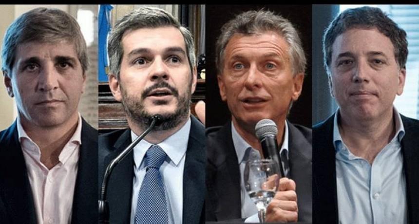 Imputaron a Macri, Peña, Dujovne y Caputo por el acuerdo con el FMI