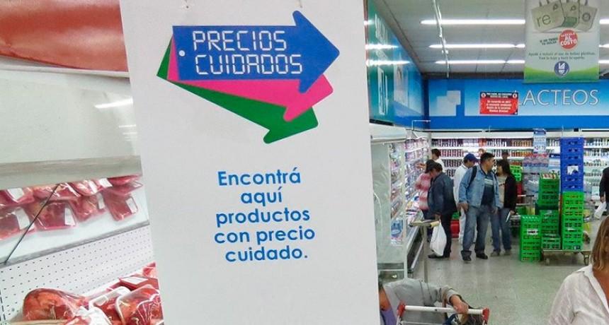 El gobierno renovó la lista de precios cuidados y sumó más supermercados