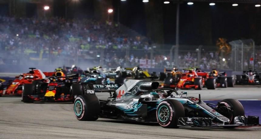 Hamilton fue imbatible en Singapur y se afirma en el liderazgo de la Fórmula 1