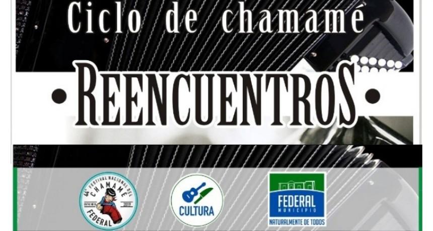 """SÁBADO 22 DE SEPTIEMBRE: 2DO ENCUENTRO DEL CICLO DE CHAMAMÉ """"REENCUENTROS"""""""