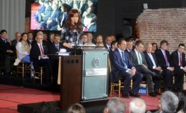 Cristina aseguró que el nuevo Código legitima
