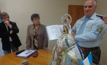 Un misionero visitó Federal y quiere unir los tres festivales del Chamamé