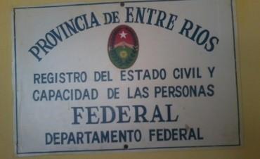 Por las elecciones el Registro Civil atiende hasta las 17 hs.