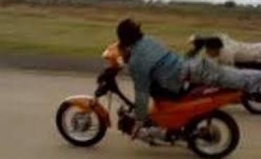Nuevamente las picadas de motos en Colectora Berardo
