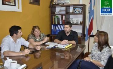 Reunión Institucional con la Intendenta de Feliciano