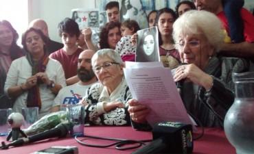 Abuelas anunció la recuperación del Nieto 121:
