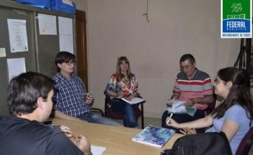 Reunión para coordinar Plan de Acciones  en conjunto  entre  Direcciones  Municipales