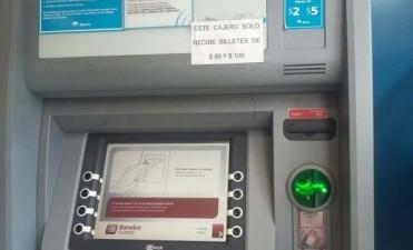 Hay pocos cajeros adaptados para los billetes de 500 pesos