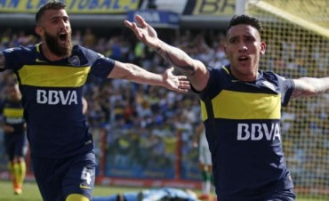 Boca demostró su superioridad y le ganó con justicia a Sarmiento