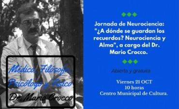 Jornada de Neurociencia a cargo del Dr Mario Crocco